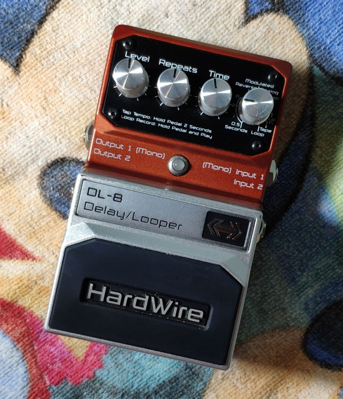 Hardwire Dl-8 Delay / Looper - Willaudio