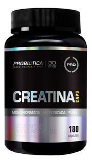 Creatina Monohidratada Pura 180caps - Probiotica