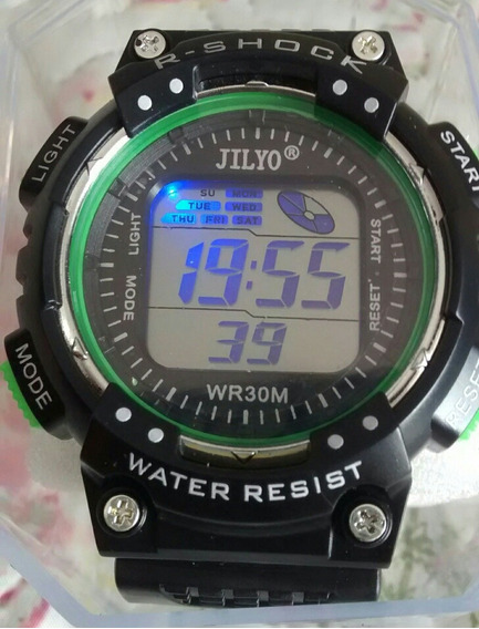 Relógio Digital Esport Led Troca De Cor Barato