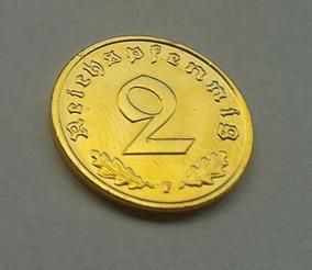 Moeda De Ouro 24 K Alemana 1938