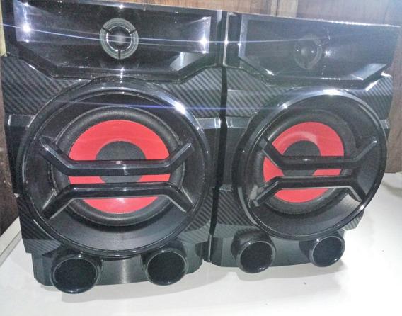 Par De Caixa Mini System Lg Cm4350 - Original