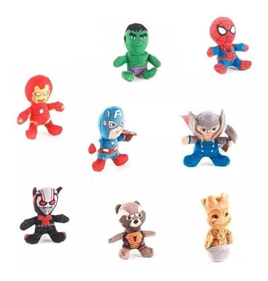 Peluche Mini Marvel 7 Cm - Modelos Surtidos X Un