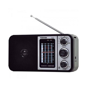 Rádio Portátil Toshiba Muiltibanda Am/fm Tr849
