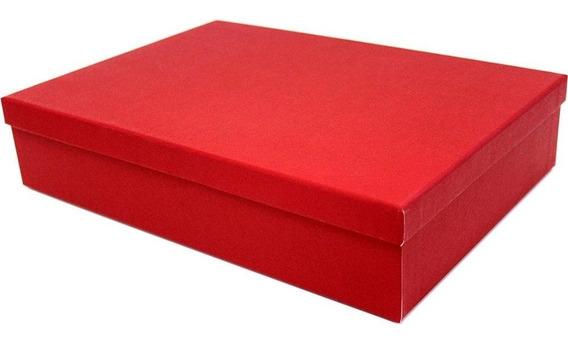 Caixa Para Presente 35x25x7,5cm Vermelha M Kawagraf Pt 1 Un
