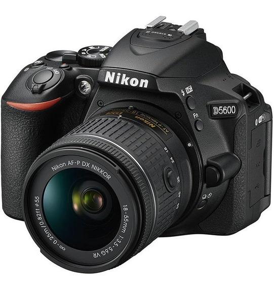 Câmera Nikon D5600 Com Lente 18-55mm