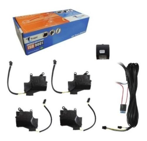 Imagem 1 de 7 de Kit Trava Elétrica Tragial Tp4mn Fiat Palio Gm Celta Fiesta