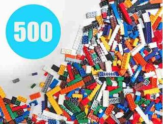 Juegue Platoon Building Bricks Colores Regulares 500 Piez!