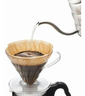 Cafetera V60 Dripper 02 Cono De Goteo Plástico Hario