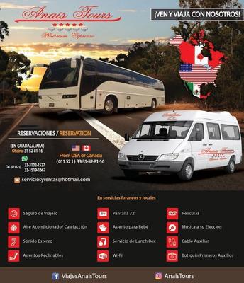 Renta De Autobuses Y Camionetas Sp *** Anais Tours ***