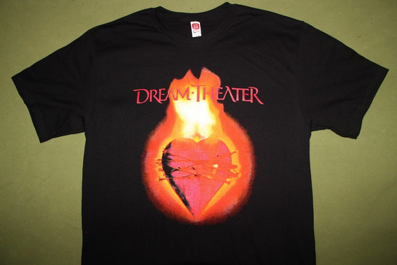 Gusanobass Playera Rock Metal Dream Theater Live Marquee Med