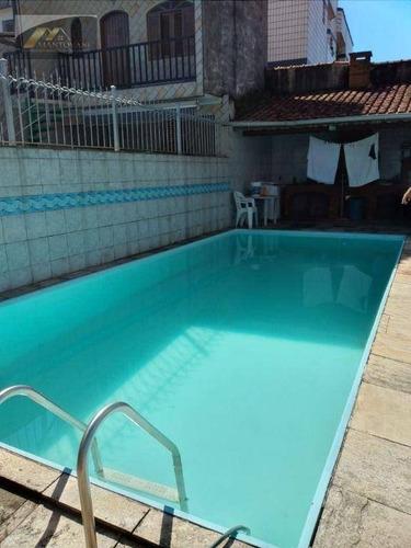 Imagem 1 de 25 de Casa Com 3 Dormitórios À Venda, 111 M² Por R$ 450.000 - Tupi - Praia Grande/sp - Ca0322