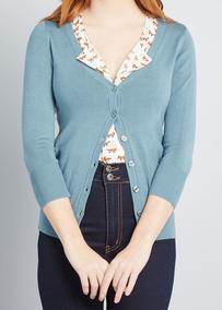Cardigan Blusa De Frio - Tricot Casaco