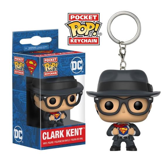 Llavero Funko Pop Clark Kent - Superman Dc Coleccionables