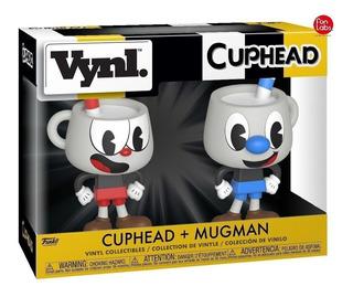 Funko Pop Vynl Cuphead + Mugman Juego Ps4 Xbox Playstation