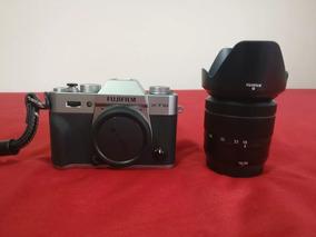 Kit Câmera Fujifilm X-t10 Prata 16-50 Mirrorless Fuji Xt10