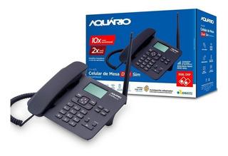 Telefone Rural Aquario Ca42s Dual Chip Quadriband Ca-42s