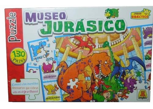Puzzle Museo Jurasico 130 Piezas Implás