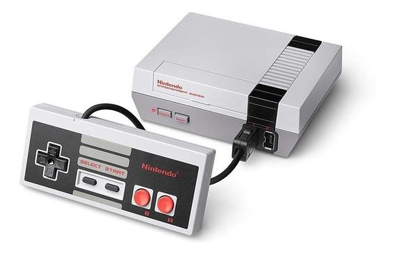 Nintendo NES Classic Mini cinza e branco