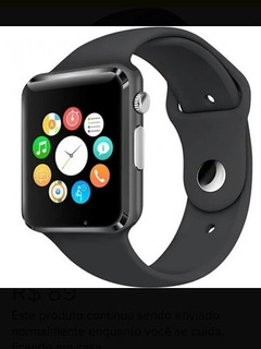 Relógio A1 Smartwatch Inteligente Bluetooth Chip