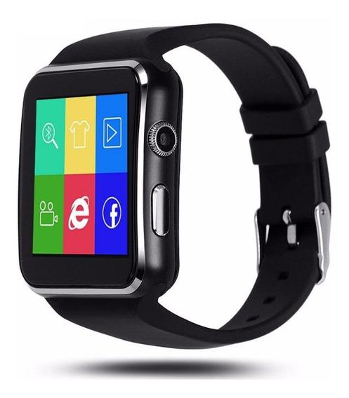 Reloj Celular Curvo X6 Smart Watch Camara Sd Solo Bluetooth