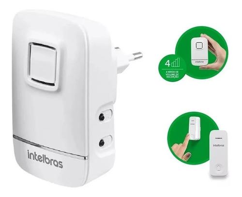 Campainha Intelbras Cik 200 Residencial Eletrônica Sem Fio
