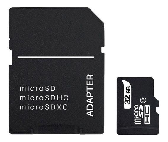 Cartão Sd 32gb Classe 10 Para Câmera Fotográfica E Filmadora