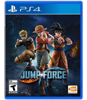 Jump Force / Stock Ya! / Juego Físico / Ps4