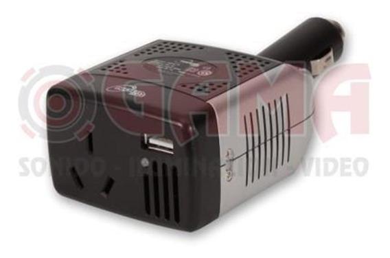 Inversor De Tension De 12v. A 220v. 75watts + Usb 5v. Nga-7