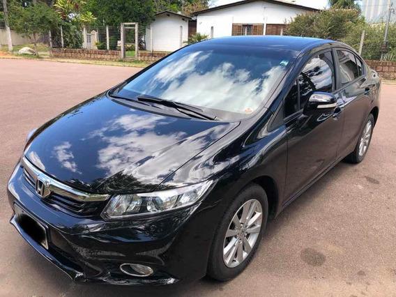 Honda Civic Lxl 1.8 2012 56.700 Km Revisões Só Autorizada