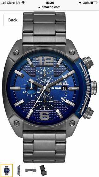 Relógio Diesel Dz4412 - Diesel Watches Overflow Stainless