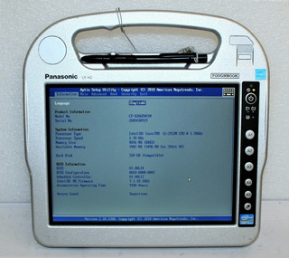 Panasonic Toughbookcf-h2 Corei5 4 Gb De Ram