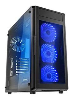Funda De Juego Raidmax Alpha Prime Black- Envío Gratis