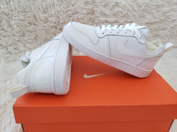 Tênis Nike Branco Court Borough Low 100% Original