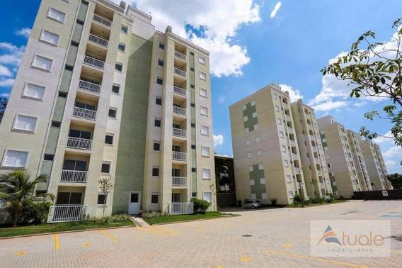 Apartamento Com 2 Dormitórios À Venda, 50 M² - Condomínio Praça Das Árvores - Hortolândia/sp - Ap4178