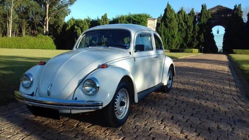 Volkswagen  Fusca - Raridade - Placa Colecionador