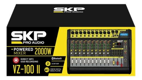 Mixer Power Consola 10 Canales Vz-100 Ii Skp - Envío Gratis