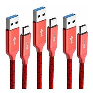 Alyee E7 0446 Cable Usb C Rojo_1