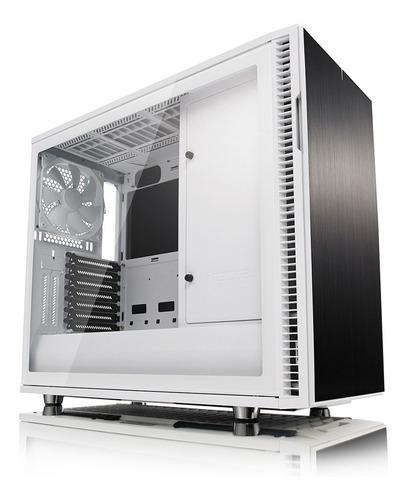 Fractal Design Define R6 Blanco Tg Vidrio 3x Coolers 140mm