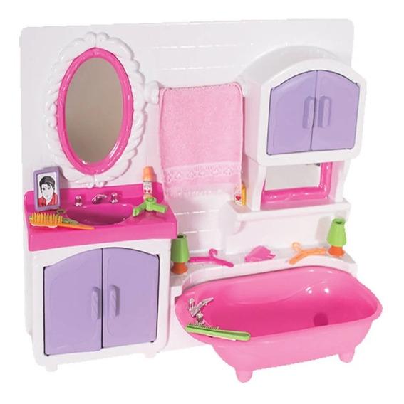 Brinquedo Toalete Princesas + Acessórios Lua De Cristal 234