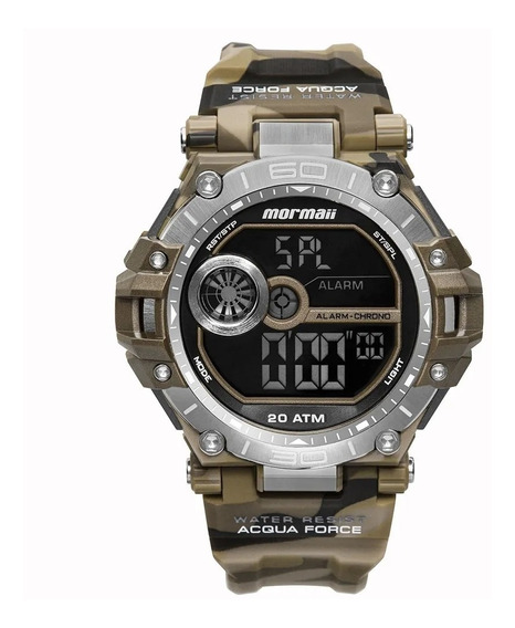 Relógio Mormaii Masculino Acqua Force Mo14073ab/8m