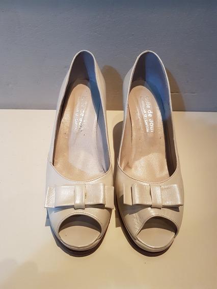 Zapatos De Novia Belle De Jour Boda Fiesta Casamiento Nude
