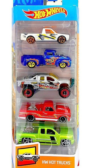 Hot Wheels Pack 5 - Hot Trucks