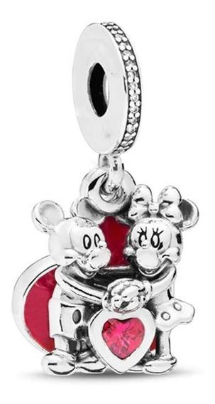 Charm De Plata A Escoger - Michey Pandora Disney