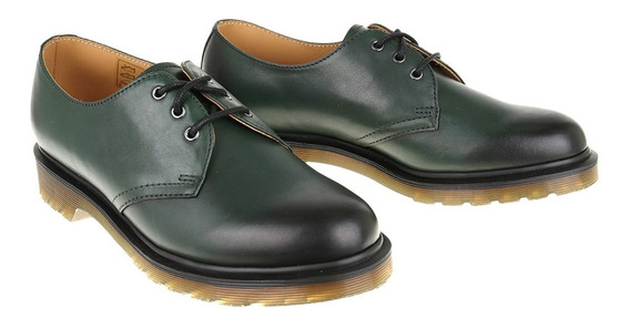 1461 Antique Temperley Drmartens Color Verde Unisex