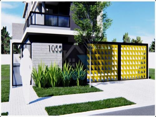 Imagem 1 de 16 de Apartamento, Novo Mundo, Dois Quartos, Aquecimento A Gás, Garagem, Terraço Com Churrasqueira. - Ap00588 - 69898354