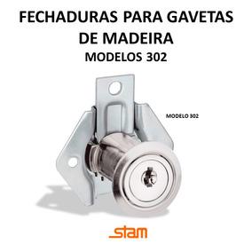 Fechadura Para Gaveta De Madeira | Stam 302