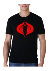 Camiseta Estampada Cobra / Gi Joe