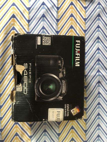 Maquina Fotográfica Semi Profissional Fujifilm Finepix S4800