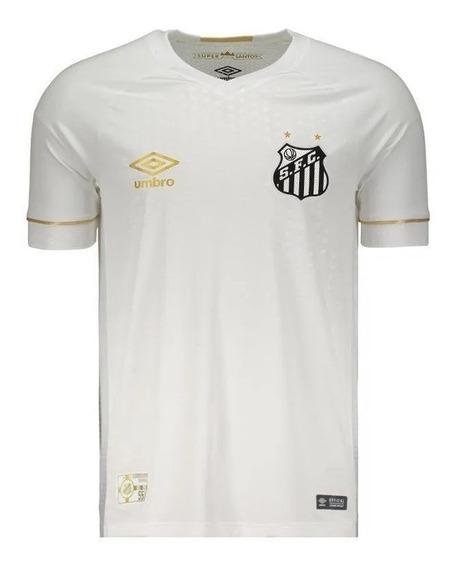 Camisa Oficial Santos I 1 Home Branca 2018/2019 Original Nf
