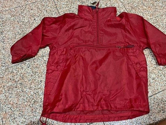 Campera Impermeable Para Chicos - Capucha - Rompeviento